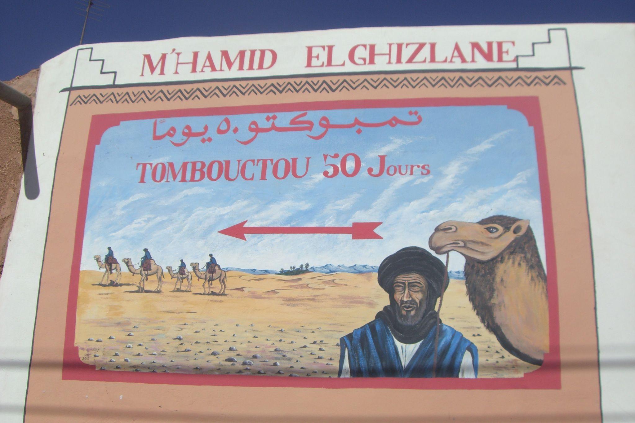 FRA MARRAKECH: 2 dagers tur nr. 201: Kasbah Ait Benhaddou – Zagora – Ørkencamp