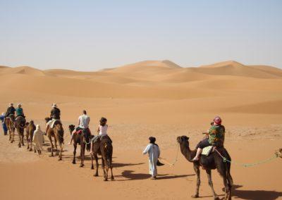 FROM M'HAMID: 2 days trip to Erg Chegaga – Desert Camp
