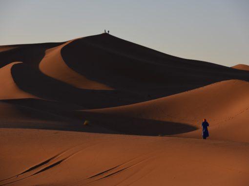 FROM OUARZAZATE: 3 days trip No. 301: Ouarzazate-Draa Valley-M'hamid-Erg Chegaga-Desert Camp-Ouarzazate
