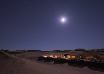 FROM MARRAKECH: 4 Days Desert Tour: Atlas Mountains – Erg Chegaga dunes – Desert camps