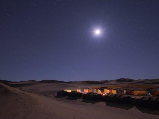 FROM MARRAKECH: 3 days trip No. 302: Marrakech-Ait Benhaddou-Zagora-Erg Chegaga-Desert camp-Marrakech