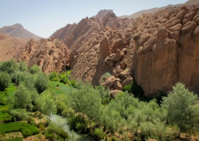 FROM OUARZAZATE: Day trip: Kasbahs – Oases – Rose valleys – Dades Gorges