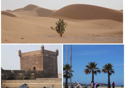 FROM MARRAKECH: 4 Days Tour:  Sahara Desert and Atlantic Ocean